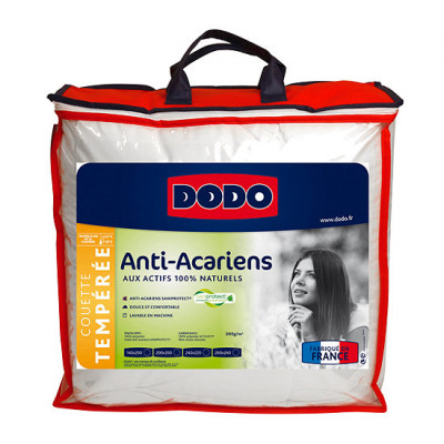 Couette SaniProtect Anti acariens 140 x 200 packaging