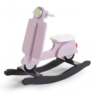 Scooter a bascule pink/black
