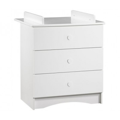 Basic - commode blanche...